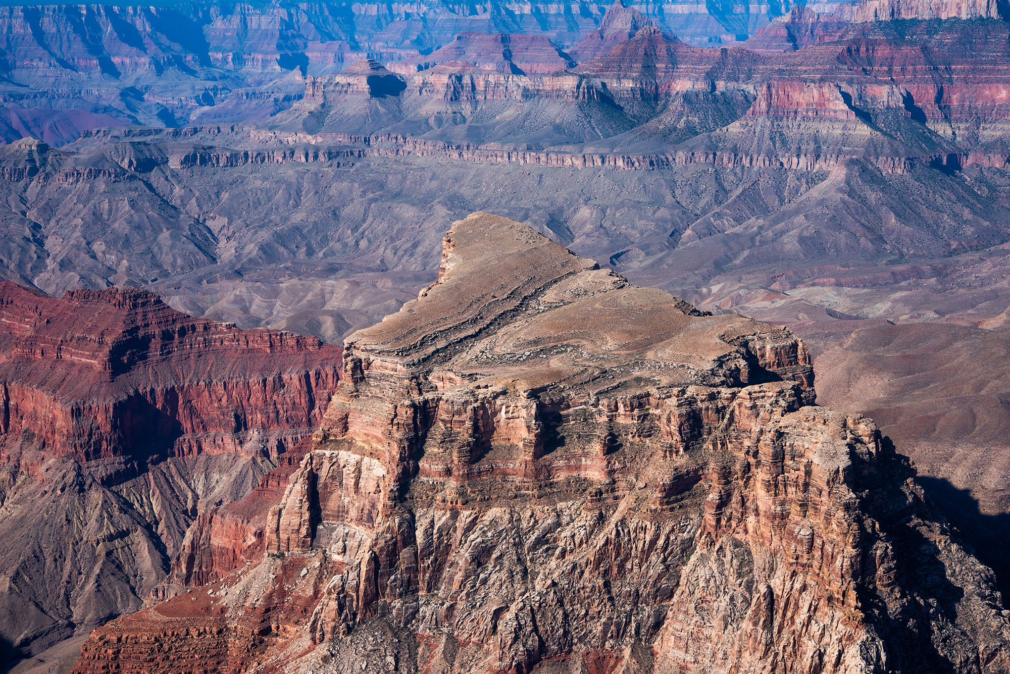 Fine art aerial and landscape photography of the Grand Canyon.