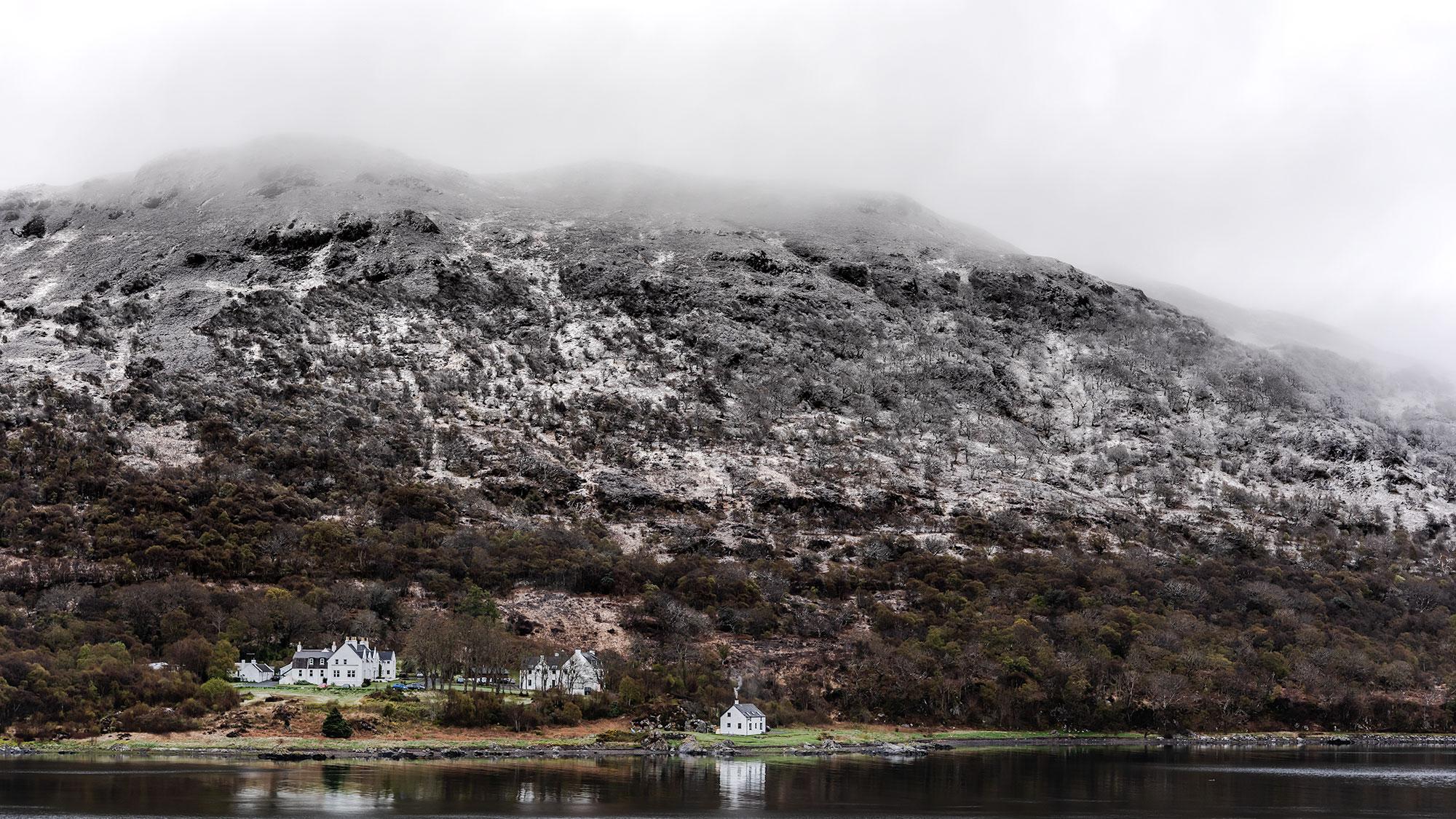 Petit village sur l'Île de Skye.