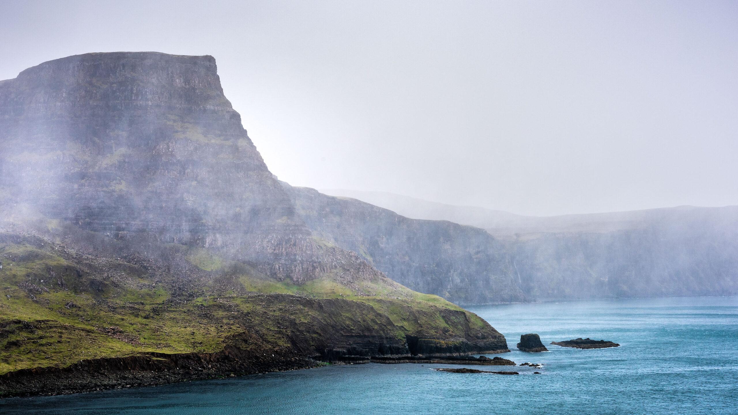 Dramatic landscape photography taken at Neist Point on Skye Island by the photographer Jennifer Esseiva.