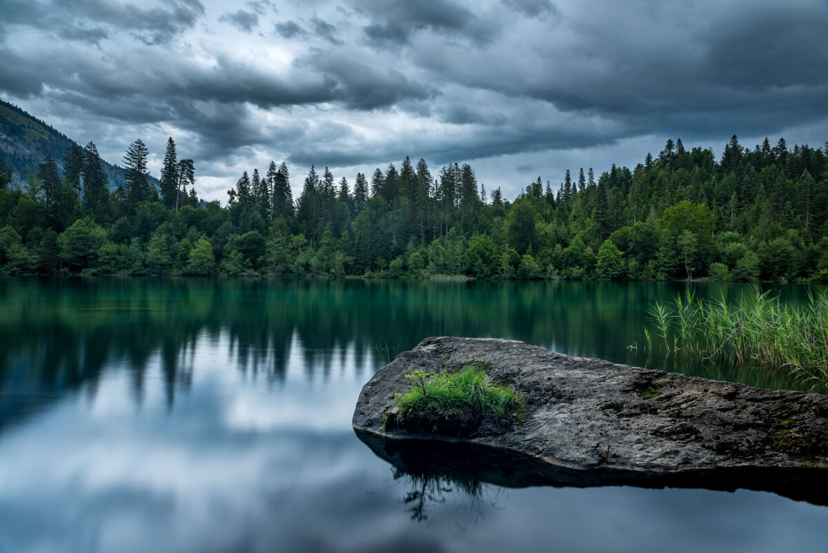Fine art photography of the Crestsee located in Flims in Graubünden, Switzerland.