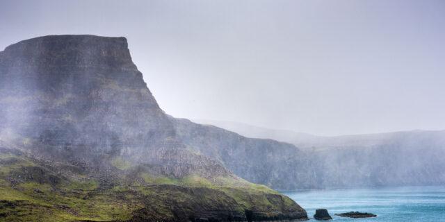 Landscape photography taken at Neist Point on Skye Island.