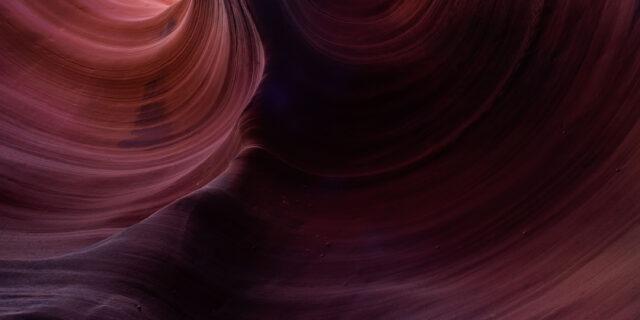 Fine art photography of Antelope Canyon.